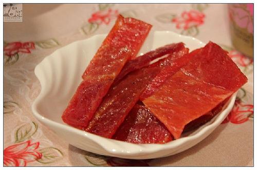 2.蜜汁豬肉乾一直都是所謂的基本款