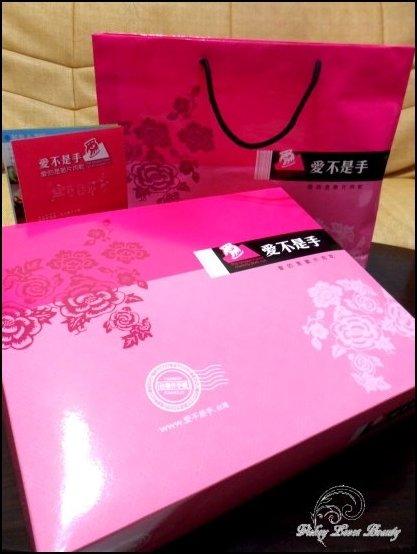 1.富有中國風的粉紅色禮盒,送禮是也很體面!