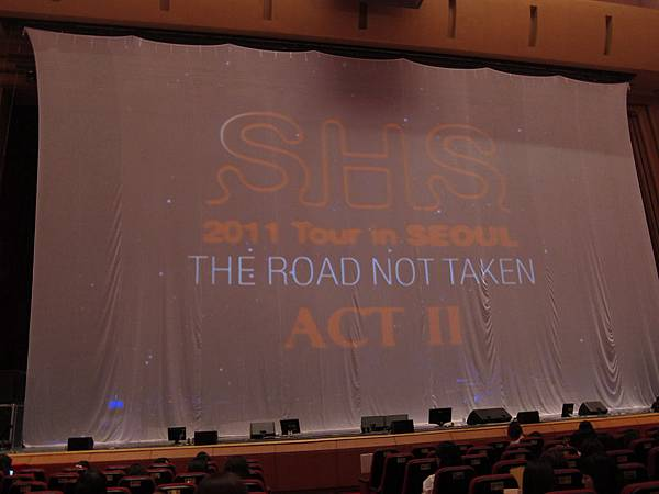 SHS The Road Not Taken Act II in Seoul
