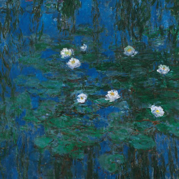 莫內的藍色睡蓮