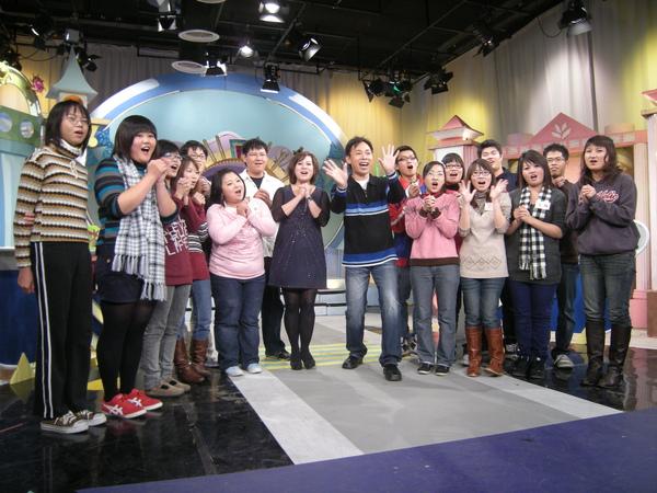 年輕學子來上節目唷!