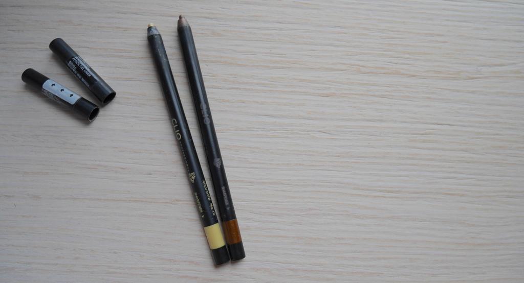 CLIO 炫彩防水眼線膠筆 #1米色#4可可色