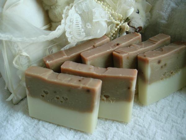 胭脂米糠皂