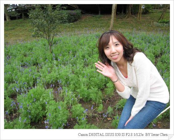 薰衣草森林尖石店10-森林咖啡館外和薰衣草合照.jpg