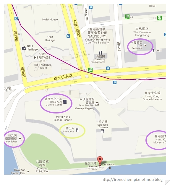 HK223-星光大道map.jpg