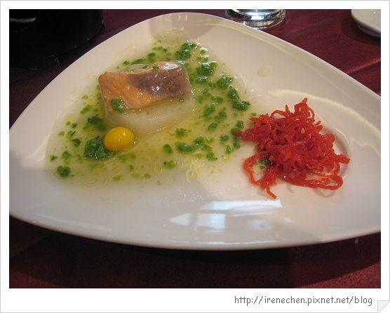 宜蘭富翔飯店10-山藥燉鮭魚.jpg