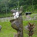 哈妮造型石雕