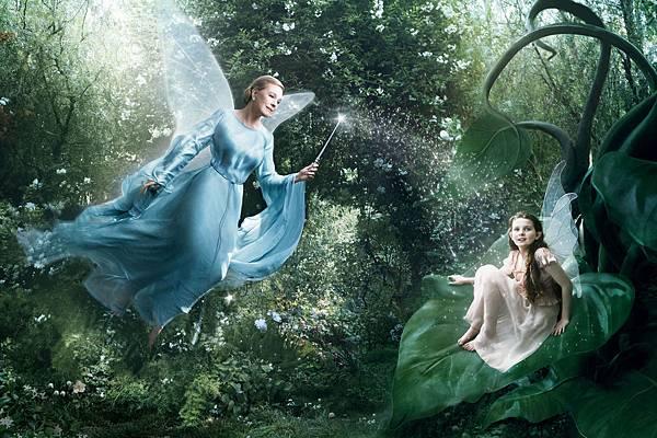 Julie Andrews as Blue fairy
