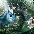 Julie Andrews as Blue fairy