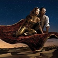 Jennifer Lopez as Princess Jasmine & Marc Anthony as Aladdin