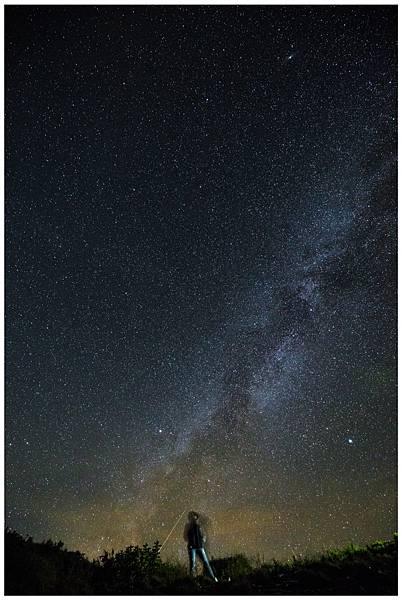 【旅行X攝影】合歡山銀河拍攝之旅!有摩艾請慎入!