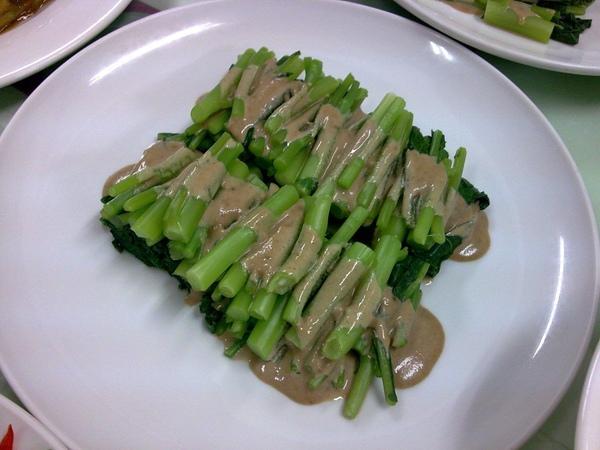 301D3-涼拌芝蔴醬芥蘭菜(x醬太稀).jpg