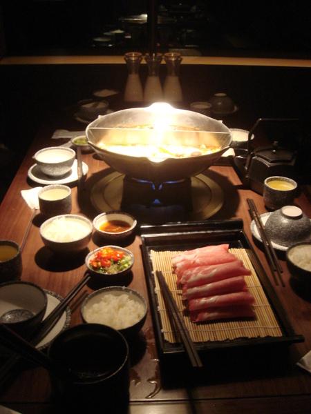 餐點-鴛鴦鍋、雪花豬