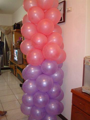 姑姑家2_裝飾的氣球.JPG