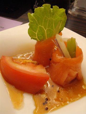 北澤餐5_油醋燻鮭魚捲.JPG