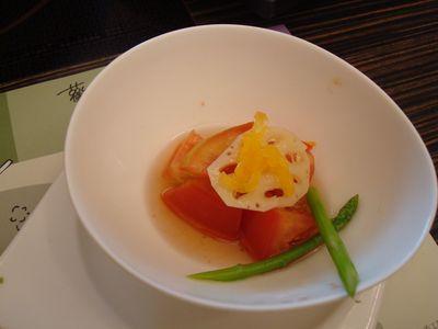 北澤餐6_蓮藕蕃茄沙拉.JPG