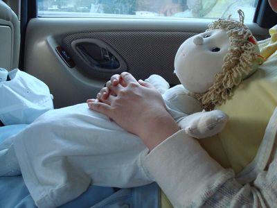 香香9_在車上睡覺.JPG