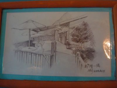 雲在山房4人房17_素描.JPG