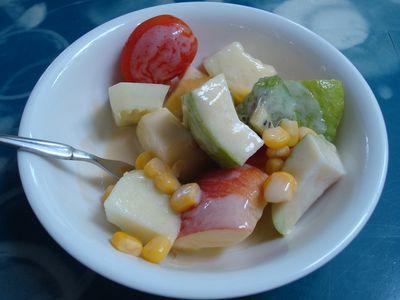 冷水雅典餐1_水果優格沙拉.JPG