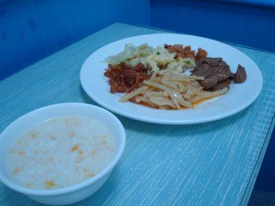 719早餐1_稀飯.JPG
