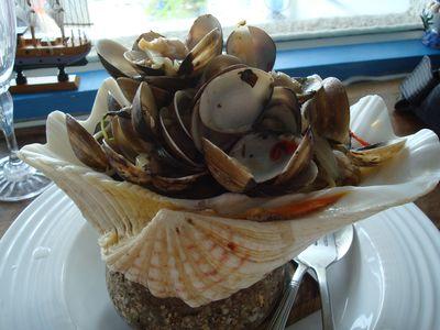沙灘小酒館餐3_白酒蛤利義大利麵.JPG