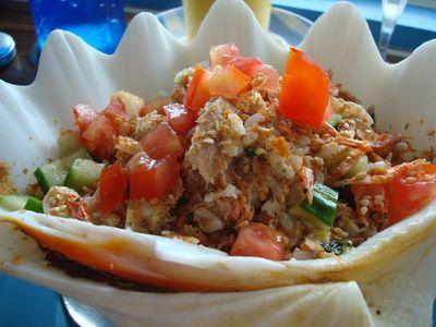 沙灘小酒館餐4_鮪魚海鮮炒飯.JPG