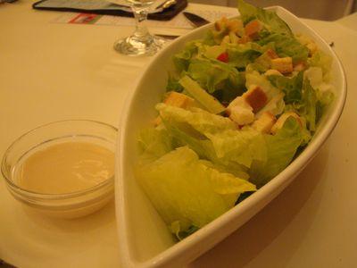 2009父親節西堤4_蘿美生菜沙拉佐凱薩醬.JPG
