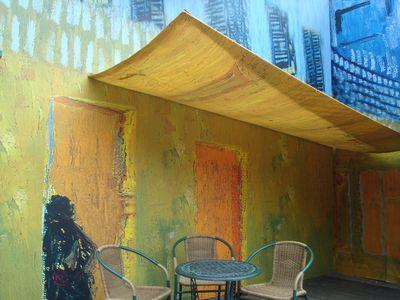 梵谷展3_星空下的咖啡館.JPG