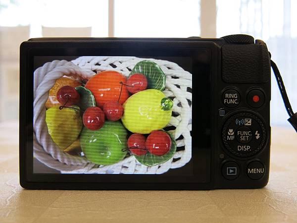 圖12 Canon S120的液晶屏顯示效果(原圖未編輯)