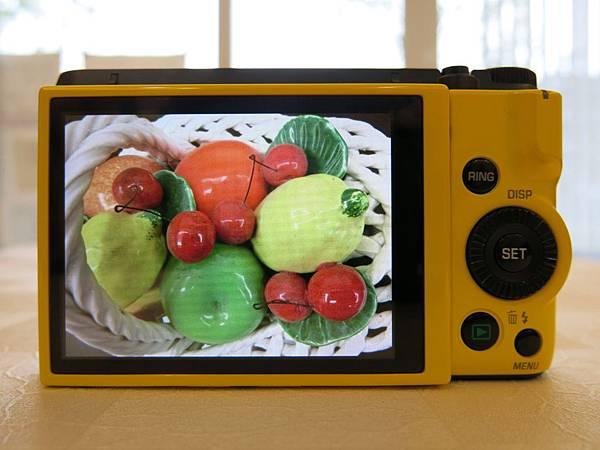 圖13 Casio ZR1200的液晶屏顯示效果(原圖未編輯)