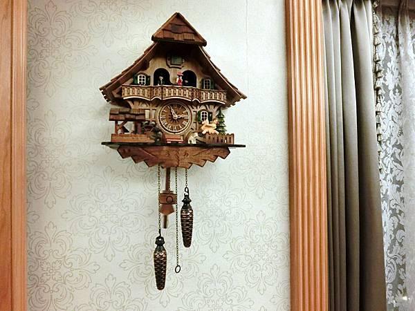 圖3 我家中的美麗咕咕鐘