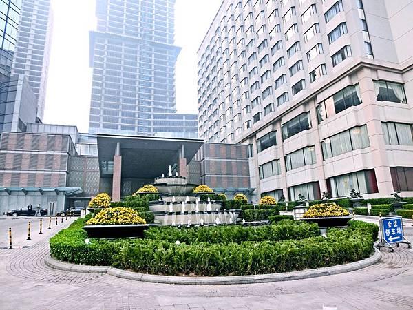 圖1 青島香格里拉大酒店外觀