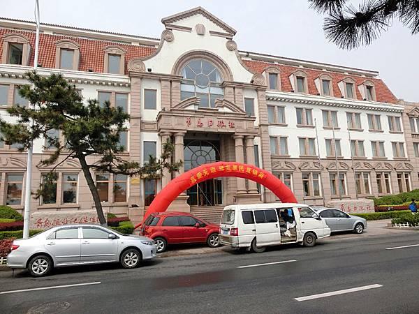 圖5 從青島車站到香格里拉,途中行經青島日報社。