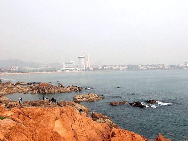 圖3 青島市的美麗海景