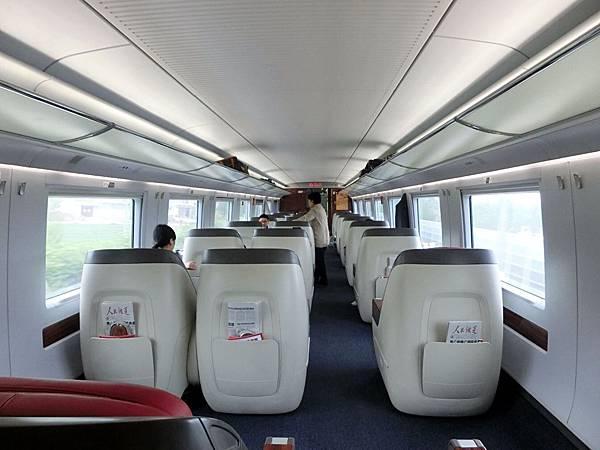 圖16 高鐵商務艙車廂內觀