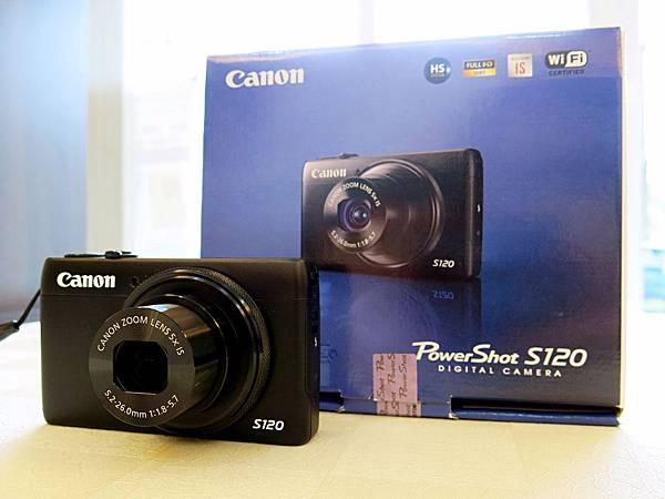 圖1 我家的第三台相機〜Canon S120