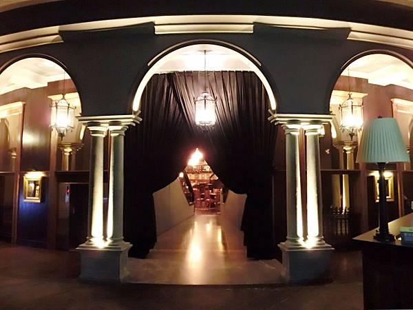 圖7 美麗華五樓金色三麥餐廳入口處