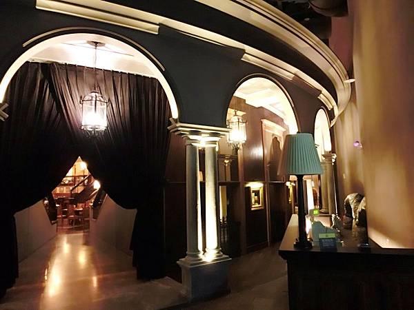 圖8 美麗華五樓金色三麥餐廳入口處