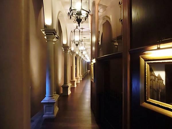 圖10 美麗華五樓金色三麥餐廳入口處