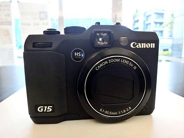 圖2 我的佳能G15相機