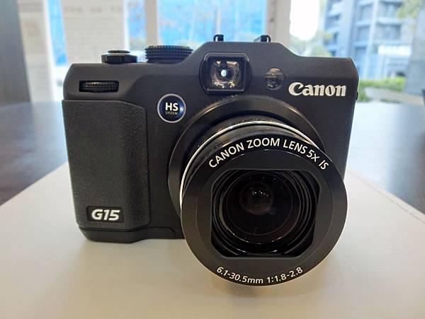 圖1 我的Canon G15相機