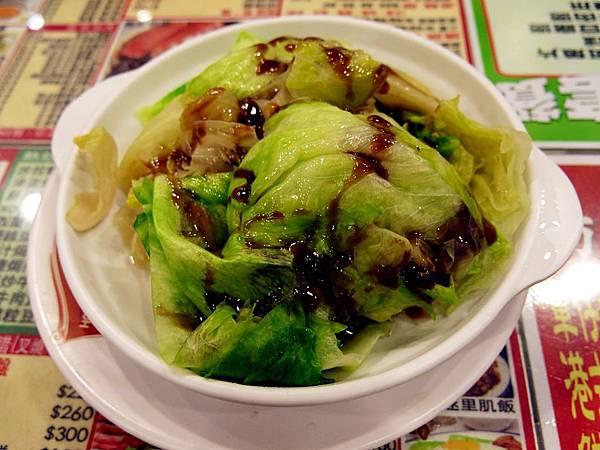圖6 嘜記的燙青菜