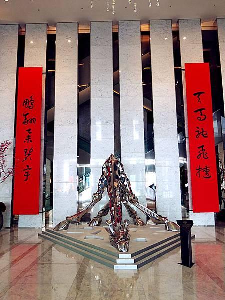 圖3 寒舍艾美酒店Lobby