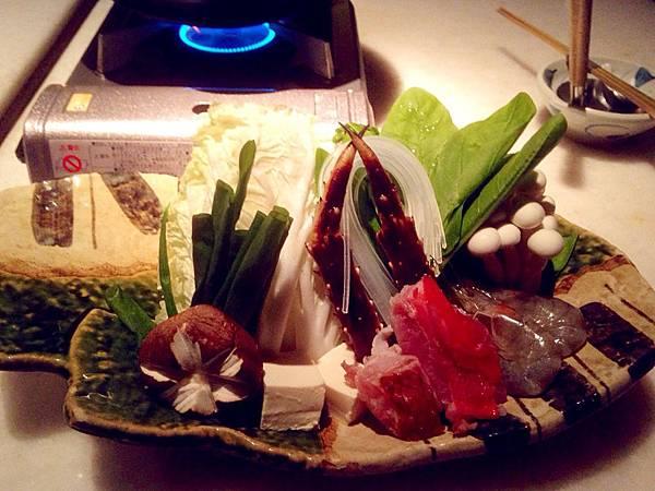 圖1 大直三井日本料理的鱈場蟹火鍋