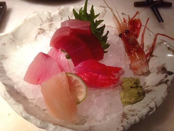 圖3 三井的生魚片