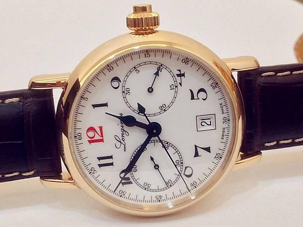 圖1 浪琴180周年限量腕錶