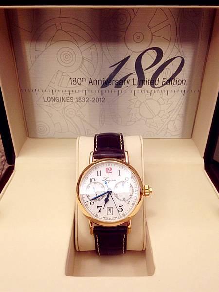圖6 浪琴180周年限量腕錶包裝盒