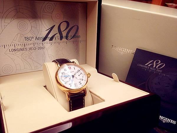 圖7 浪琴180周年限量腕錶包裝盒
