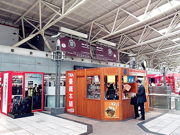 圖5 高鐵左營站內的便當販售亭