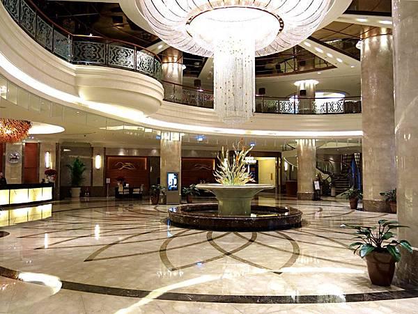 圖7 這個Lobby很上鏡,從各個角度拍都很美。